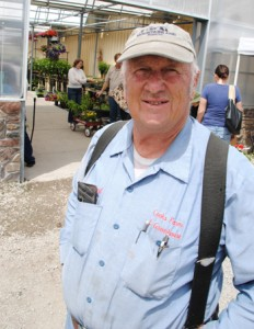 Verl Cook owns Cook's Farm and Greenhouse in Vineyard, Utah