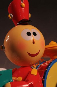 """Pixar's 1986 short story """"Tin Toy."""" This film won an Academy Award for Best Animated Short Film."""