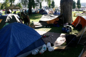 Occupy SLC at Pioneer Park