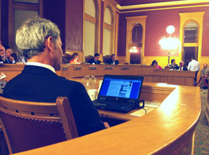 Mayor Ralph Becker at the Salt Lake City and County Building