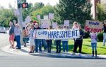 Cottonwood Heights Protesters