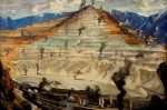 bingham canyon mine art