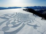 Snowshoe Artist Simon Beck Leaves His Mark(s) on Powder Mountain