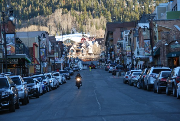 Park City Main Street today