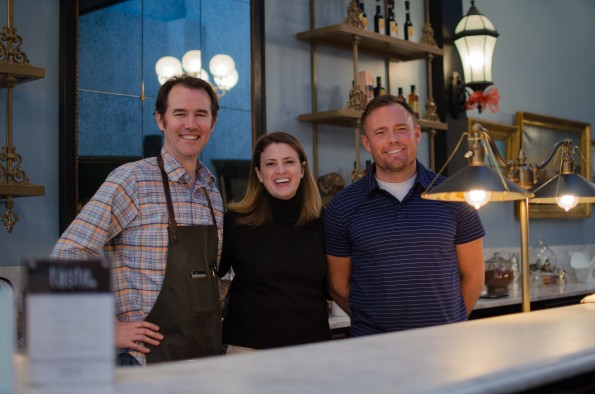 Taste is Morgan Davis with wife Char and co-owner Paul Davis-1
