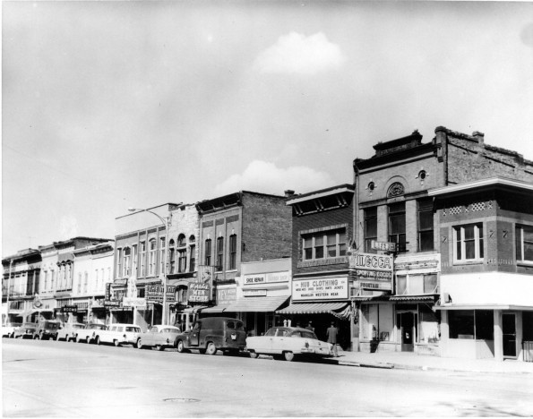 A Portion of 25th Street lost before historic designation