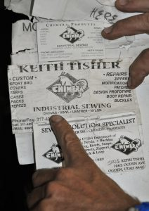 Keith Tisher's listing of services. (1)