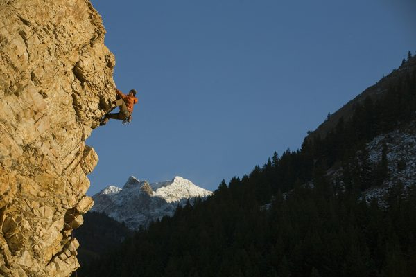 Shingo Ohkawa, City Slave 5.10d, Big Cottonwood Canyon, UT
