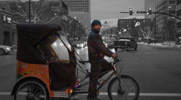 A Pedicabber's Take on Working in Utah's Inversion