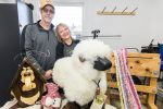 At Spinderella's Creations They Spin Wool, Alpaca, Mohair, and Llama Fur