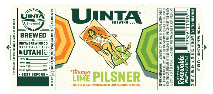 Uinta's New Seasonal Brew: Mango Lime Pilsner