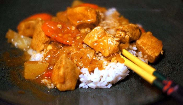 Japanese-Style Chicken Curry Recipe