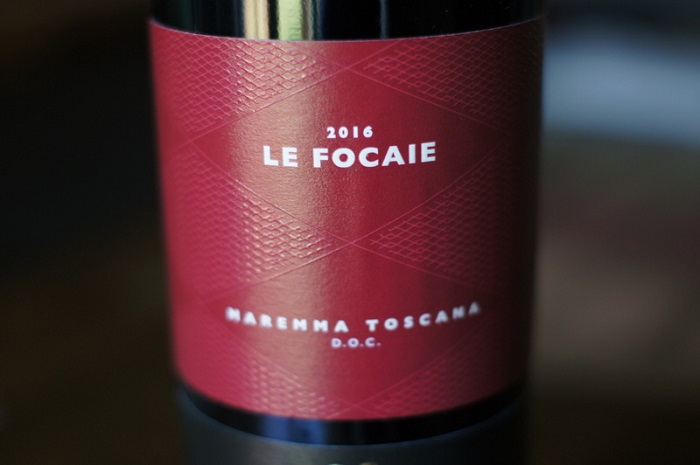 A Sustainable Tuscan Red Wine
