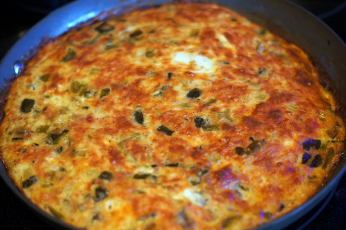 Green Chile Frittata Recipe