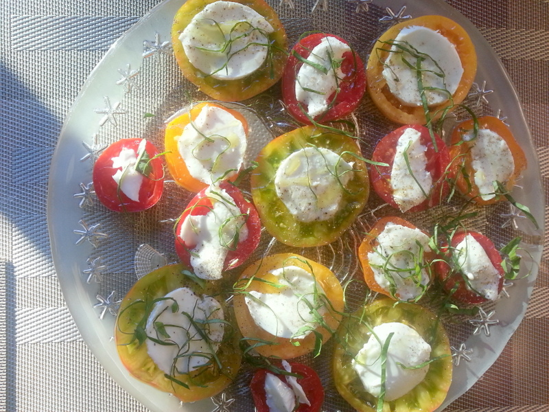 Scheff's Table: Heirloom Caprese Salad