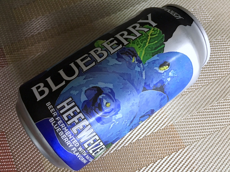 Wasatch Blueberry Hefeweizen