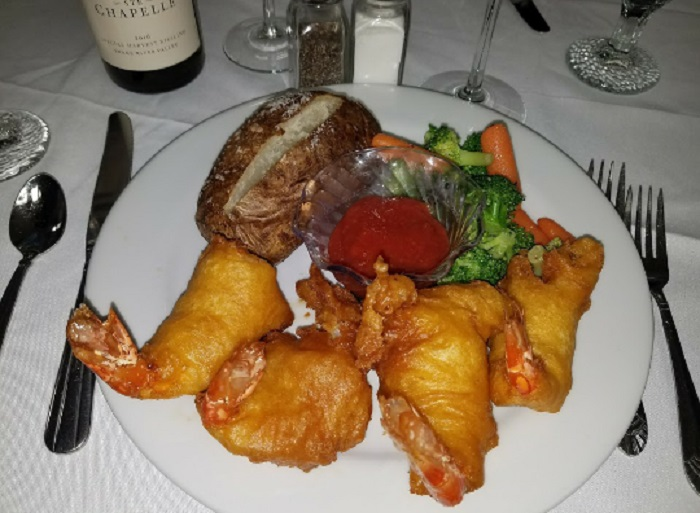 The Carbon Country Club Restaurant is Serving Up Some of the Largest Shrimp in the World
