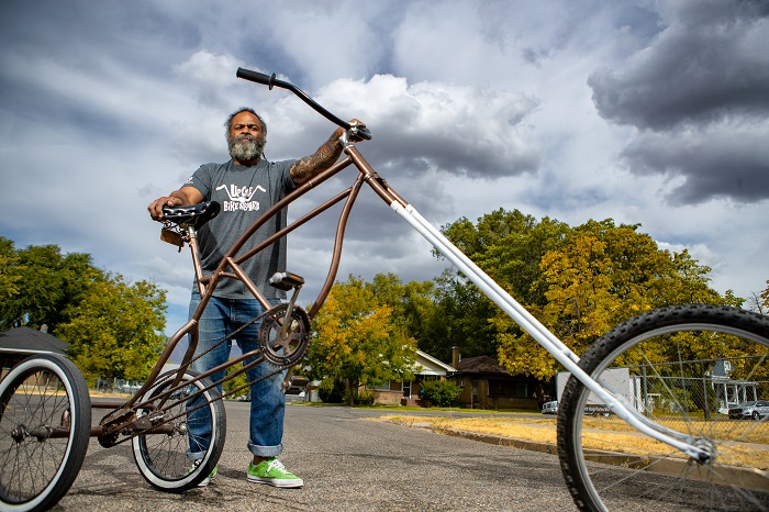 Ogden Man Creates Original Bicycles from Cast-Off Parts