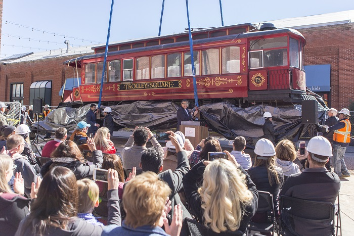 The Streetcar of Trolley Square, It's Back!
