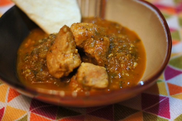 Scheff's Table: Pork Chile Verde