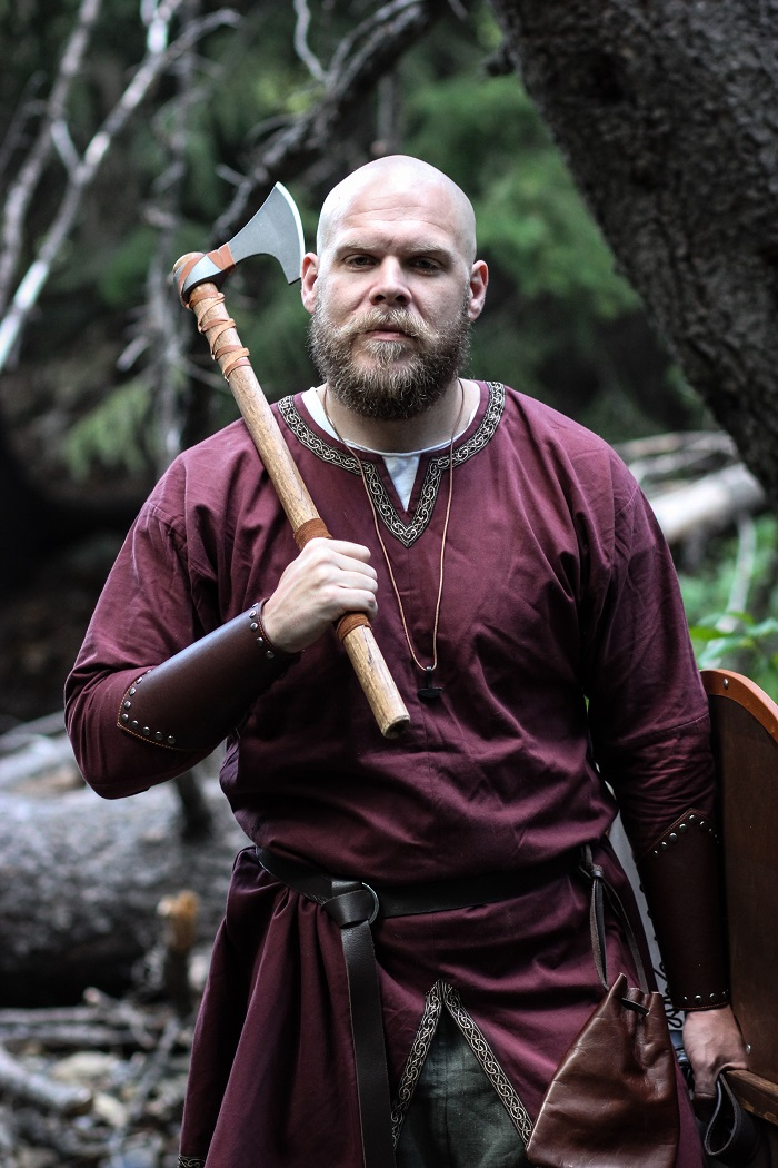A Colony of Utah Vikings Reenact Norse History