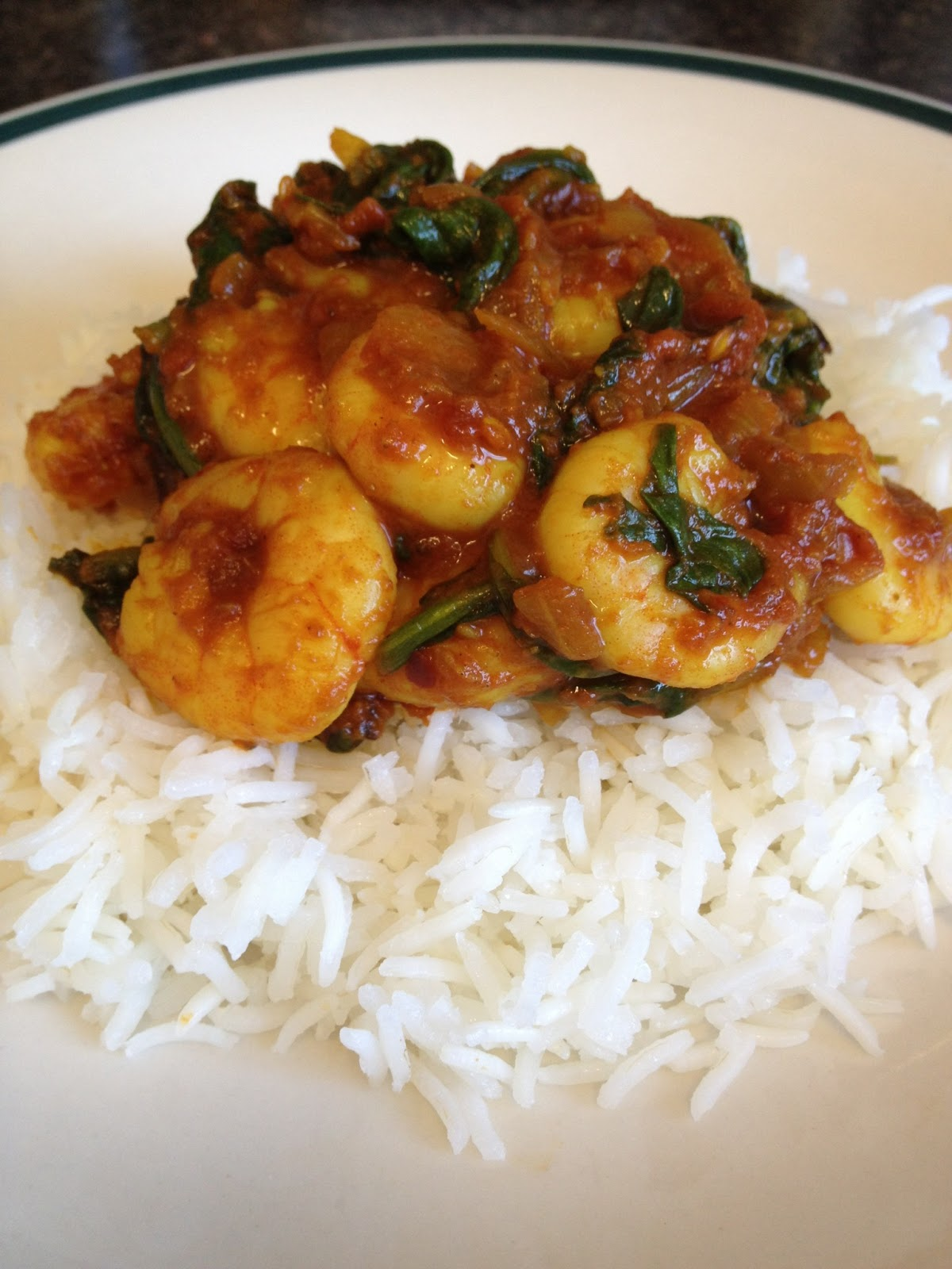 Shrimp Saag Recipe