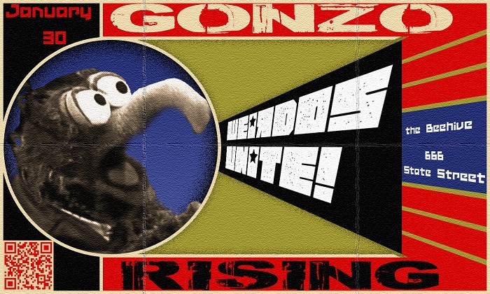 "Local Community of ""Unloved Arts"" to Present Neo-Vaudeville ""All Weirdo"" Revue Called ""Gonzo Rising"""