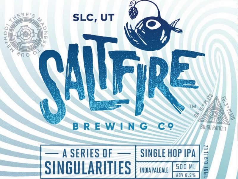 New Saltfire Singularity Beer