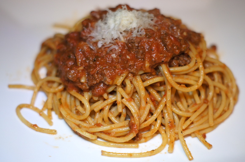Simple Meat Sauce for Pasta