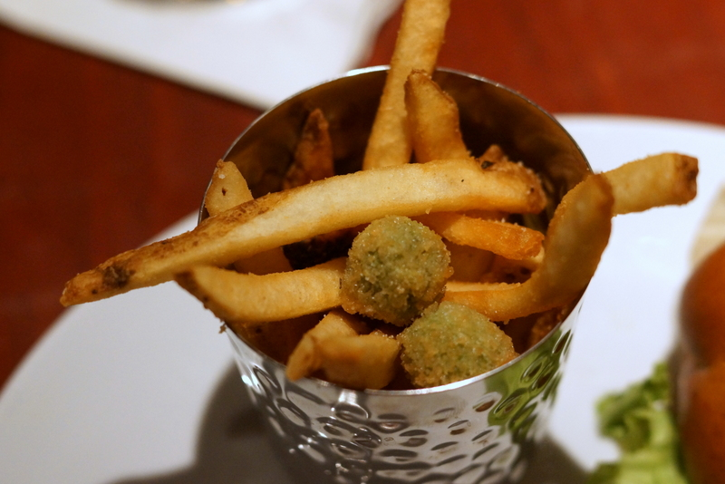 Fleming's Prime Steakhouse & Wine Bar French fries and crispy breaded-and-fried olives