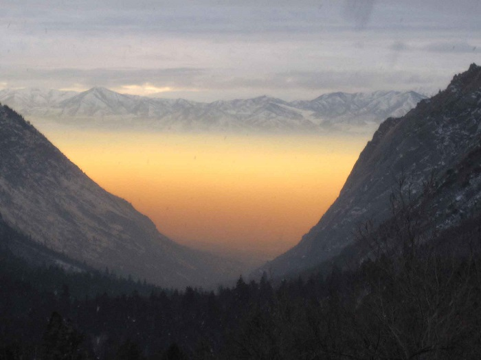 Utah Air Quality- a view from Millcreek Canyon