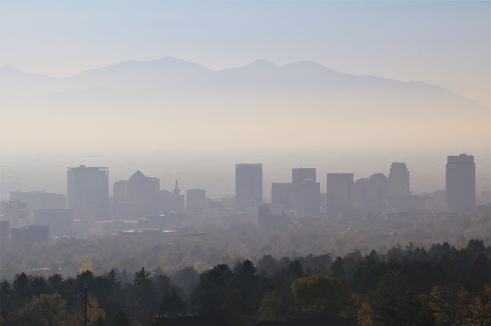 reducing car idling smog in Salt Lake City