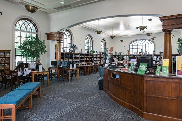 Salt Lake City Libraries: Chapman Library