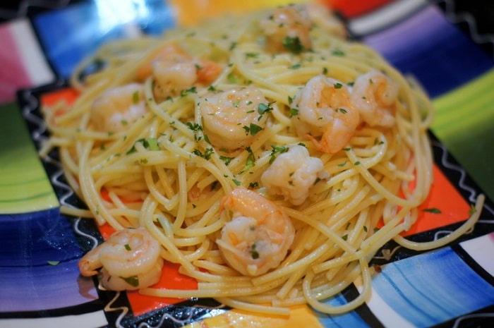 Simple Shrimp Scampi Recipe