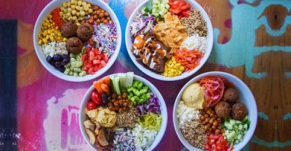 food spread at Spitz