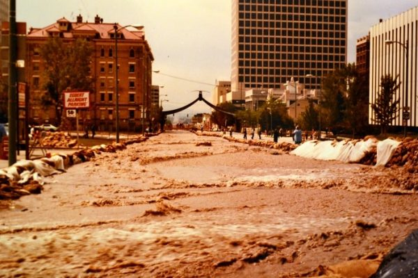 flooding in Utah in 1983