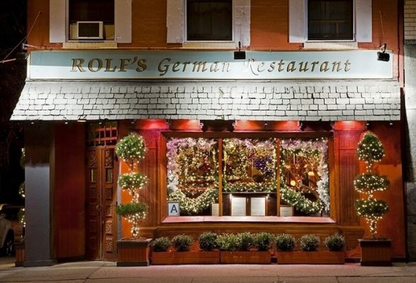 Rolf's German Restaurant serving German dishes