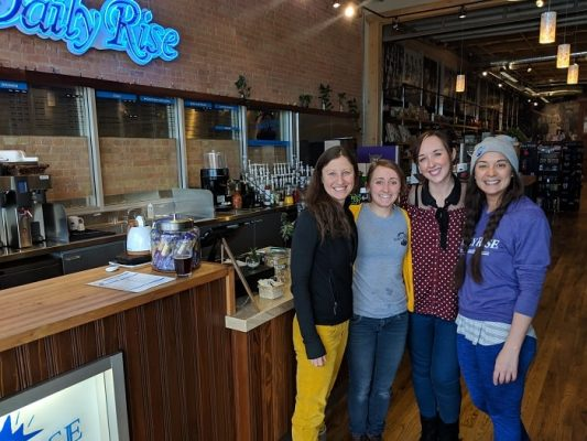 Daily Rise Coffee team