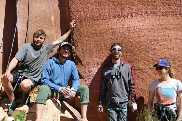 Climbers commenting on affordable housing in Moab