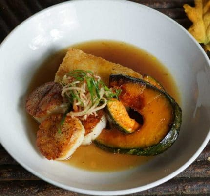 Log Haven offers an array of innovative culinary creation
