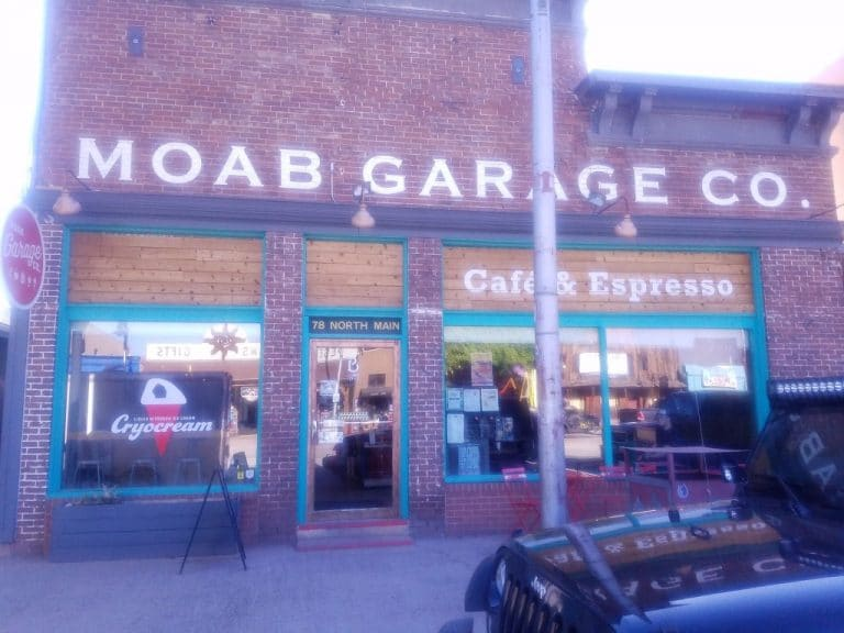 Moab, Utah restaurant resurrection: the Moab Garage Company