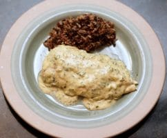 Scheff's Table—how to Make chicken with herbed cream sauce