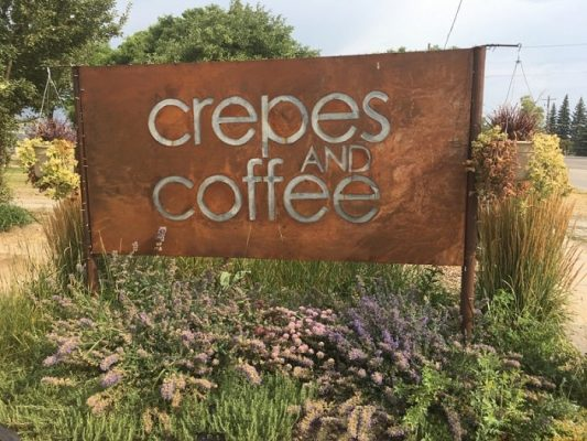 Crepes and Coffee is a jewel: a one-of-a-kind, independent, mom and pop (well, actually, it's run by teenagers) type of shop that could only exist at an idyllic place like Bear Lake.