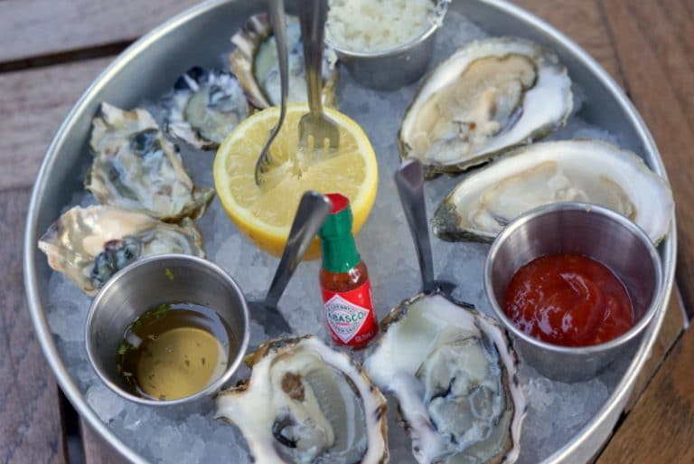 White Horse Oysters in downtown SLC | On the blocks
