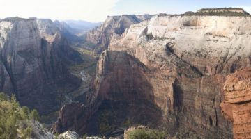 Mix safety with scenery while visiting Zion National Park