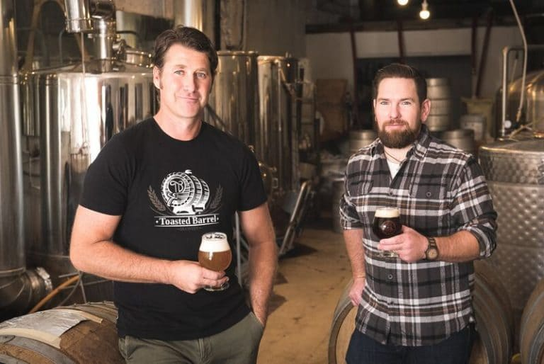 Toasted Barrel Brewery is a small craft brewery focused on products made with locally grown grains and real fruits—beers that are literally rooted in Utah.