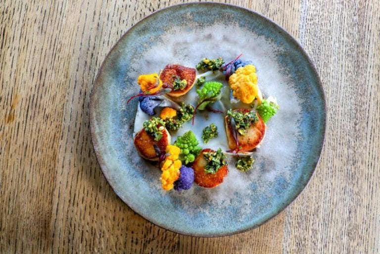 farm to table restaurant is an eatery on or near a farm and the ingredients—most, anyway—that go into the restaurant's dishes come straight from that farm.