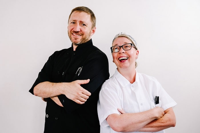 Dynamic Duos Salt Lake City Chefs -- Jonathan LeBlanc and Amber Billingsley. Photo by Dung Hoang
