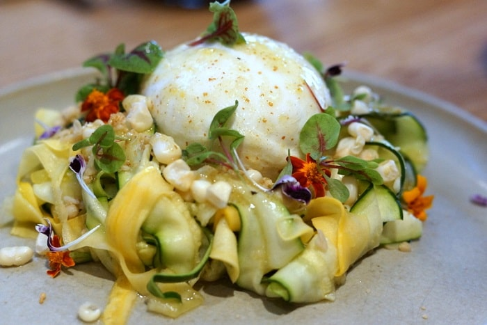Summer Squash & Burrata