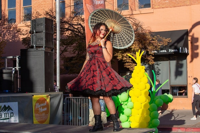 Ogden's 18th Annual Harvest Moon Celebration Stage Performers